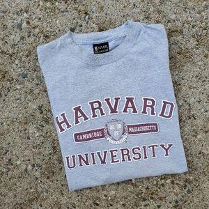 Vintage Harvard University Spellout Crest Shirt